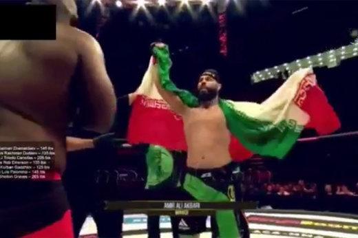 فیلم | راز سربند «حیدر کرار » بر سر قهرمانی ملی که پخش مبارزاتش در ایران ممنوع است